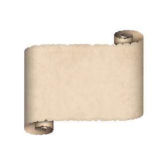 Старая бумага с прокруткой