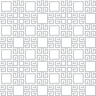 グレーと白のテクスチャエスニックスタイルのシームレスパターン