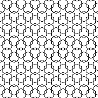 星とアラビアの繊細なパターン