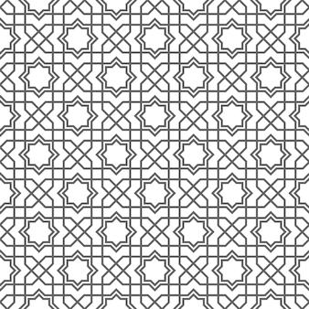 アラビア語のシームレスパターン