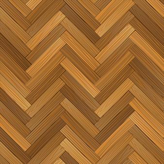 ベクトルの木製の寄せ木張りの床