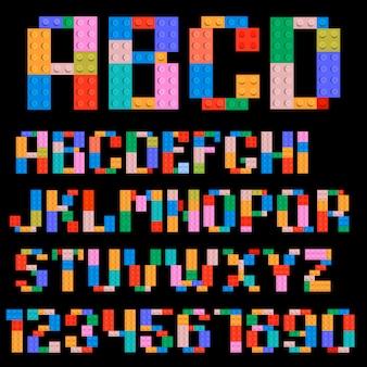 アルファベットと数字