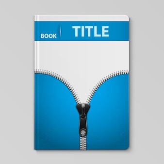 ニットテキスタイルデザインの本の表紙のテンプレート