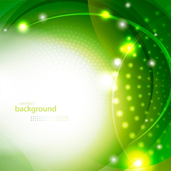 抽象的な緑の光沢のある背景