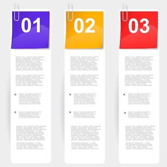 Варианты бумажных шаблонов презентации