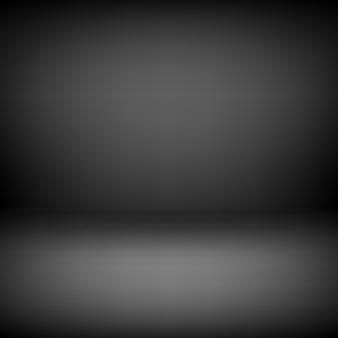Черный пустой фон студии