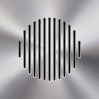 オーディオスピーカーのテンプレート
