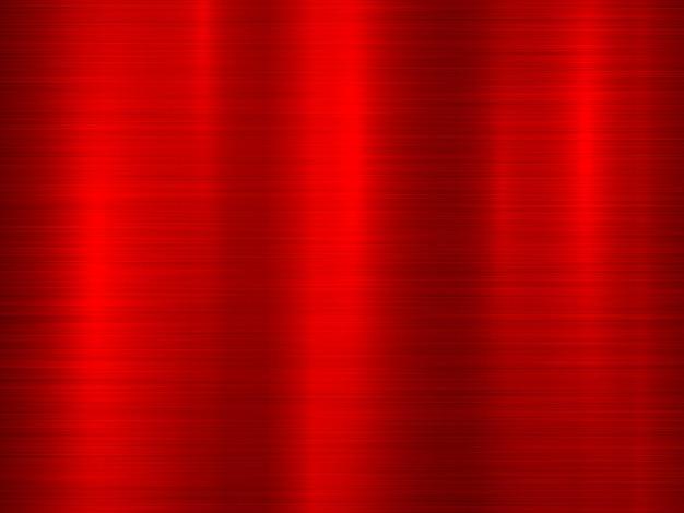 Красный металлический фон технологии