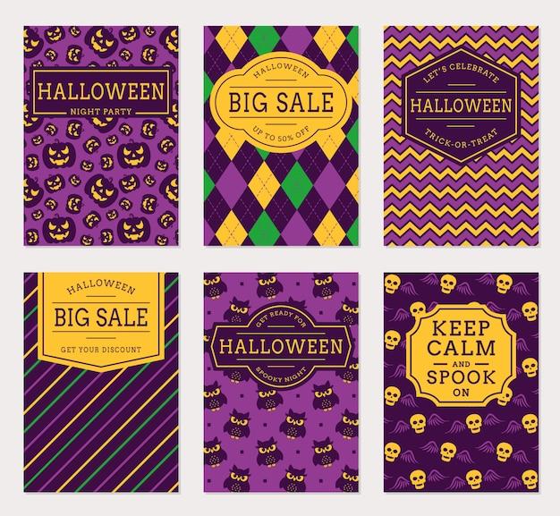 Хэллоуин баннеры