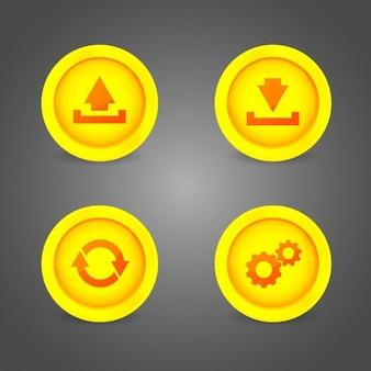 マルチメディアボタンのデザイン