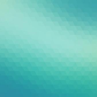ターコイズブルーの色調で抽象的な幾何学的な背景