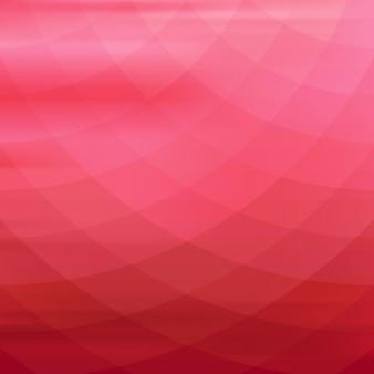 赤の色調で幾何学的な背景