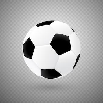 Изолированные вектор футбольный мяч