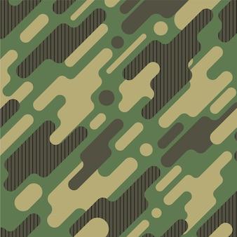 カモフラージュのパターンの背景