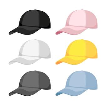 Коллекция бейсбольных шляп