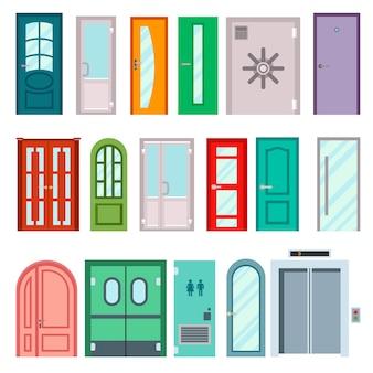 ドアは隔離された図です。