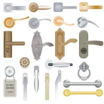 Дверная ручка, набор дверных ручек