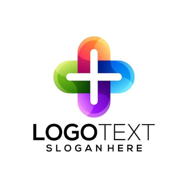 Шаблон логотипа здоровья