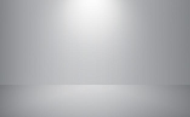灰色の空の部屋