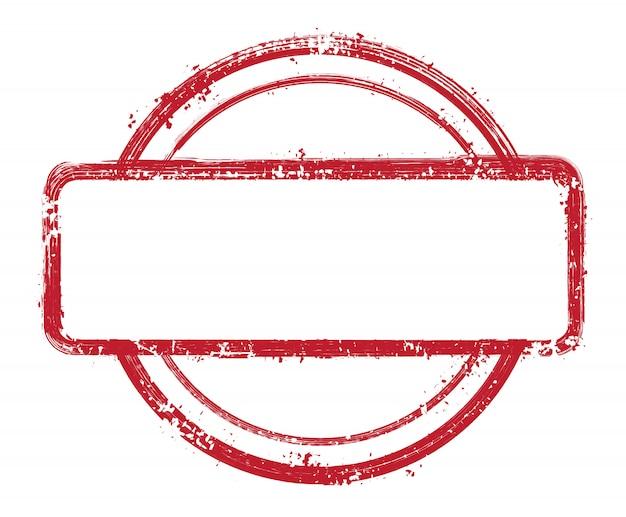 Гранж текстурированная марка