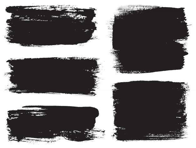 Черные мазки