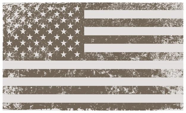 ビンテージアメリカ国旗の背景