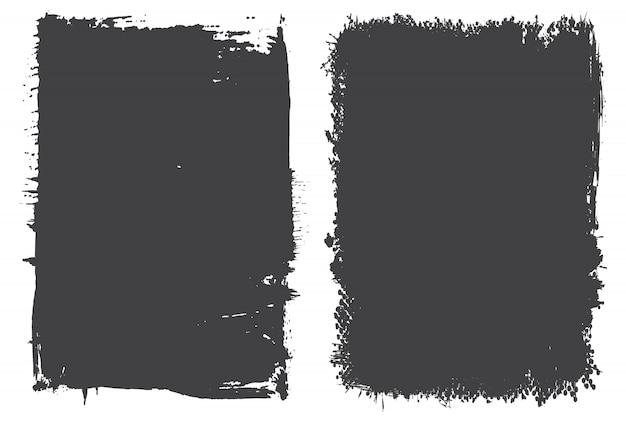 抽象的なグランジ背景セット