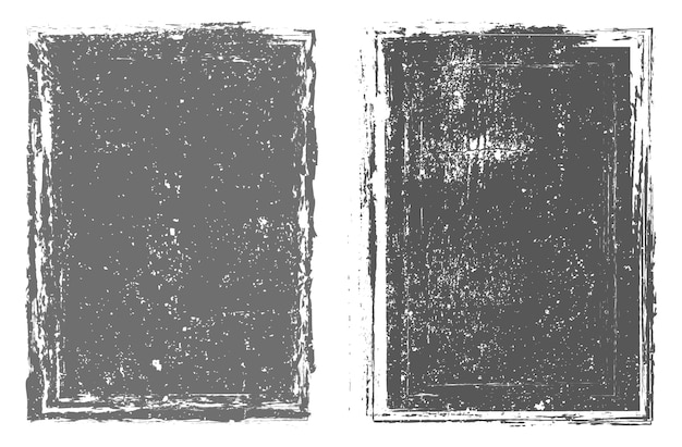 Набор абстрактных гранж кадр