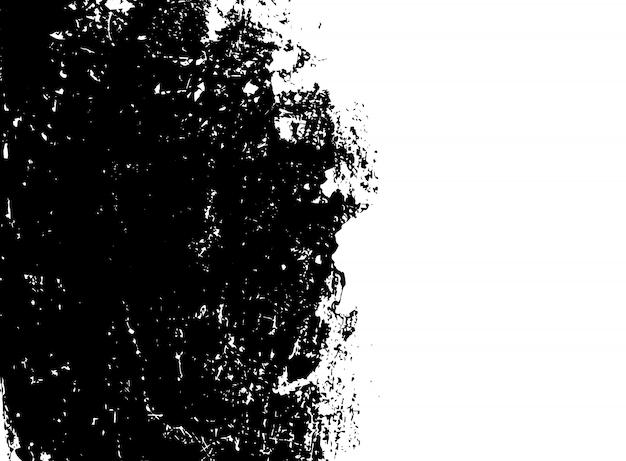 Черно-белый гранж фон
