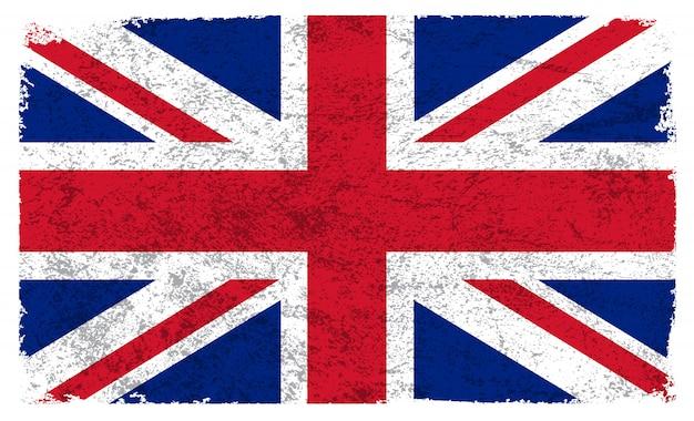 古いイギリスの旗