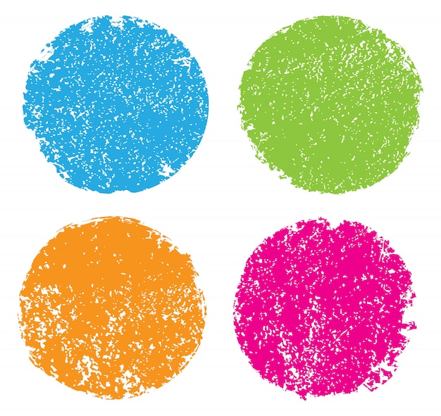 Гранж цветные круги