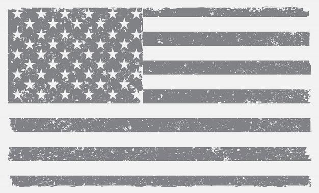 古いアメリカの国旗