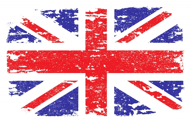 Гранж флаг соединенного королевства