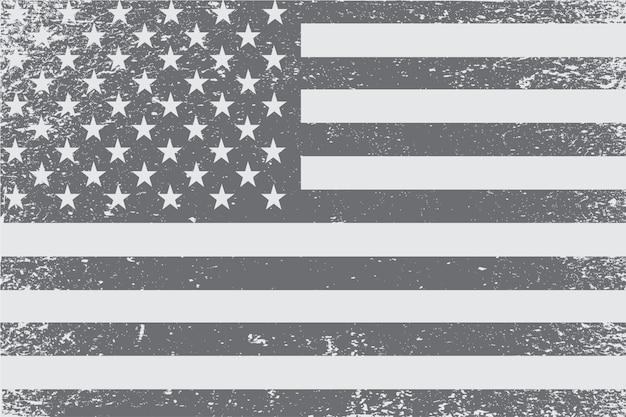 ヴィンテージ古いアメリカ国旗