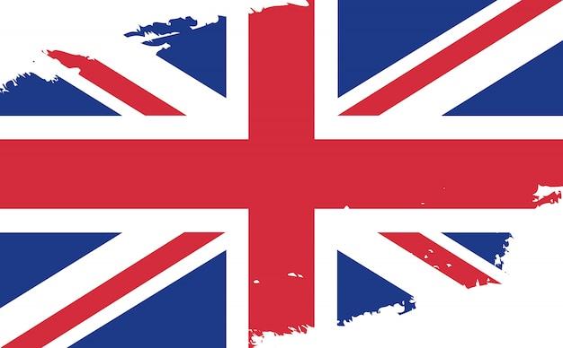 Старинный флаг соединенного королевства