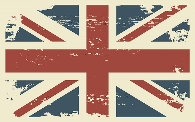 Гранж-фон британский флаг