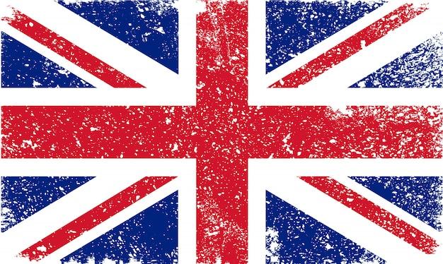 Гранж флаг великобритании