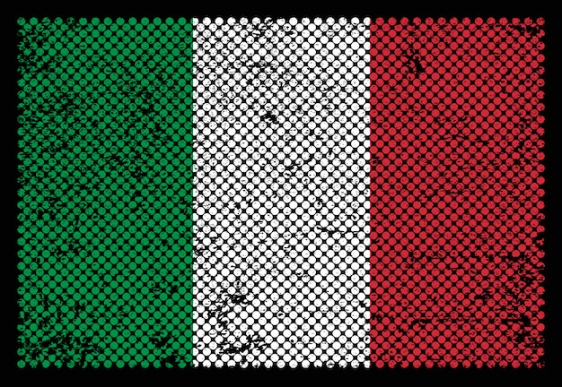イタリアのグランジフラグ