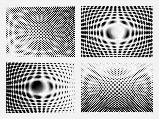 Набор шаблонов полутонов