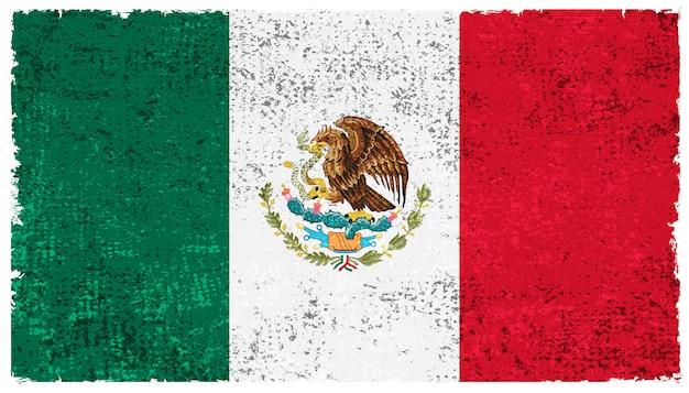 古いメキシコの国旗