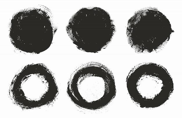 手描きの円