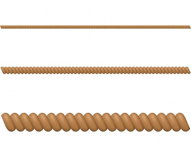 ロープのベクトル図