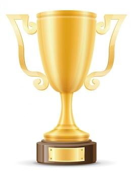 カップ優勝者ゴールド