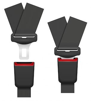 事故の際の安全のためのチャイルドシートベルト