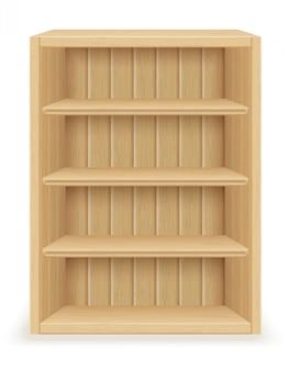 木製の本棚の家具