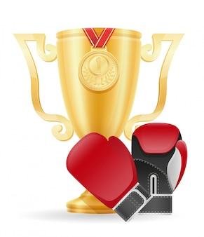 ボクシングカップ優勝ゴールドストック