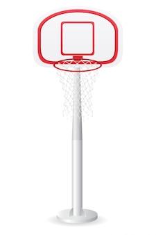 バスケットボールのバックボード