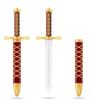 中世の短剣