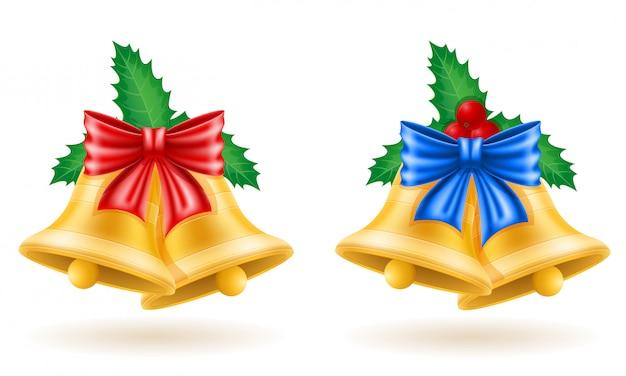 弓でクリスマス金鐘