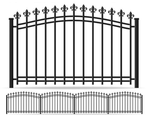 鉄鍛造フェンス